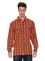 Regatta Camisa Manga Larga Fergus (Naranja)