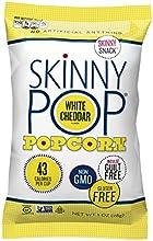 Skinny Pop Popcorn Skinny Snack White Cheddar 1 Ounce Pack of 12