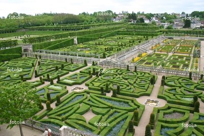 """Wallmonkeys Peel and Stick Wall Decals - Parc Et Château Villandry - 2005 - 24""""W x 16""""H Removable Graphic"""