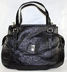 Marc Jacobs Intergalocktic Ozzie Aurora Handbag in Black