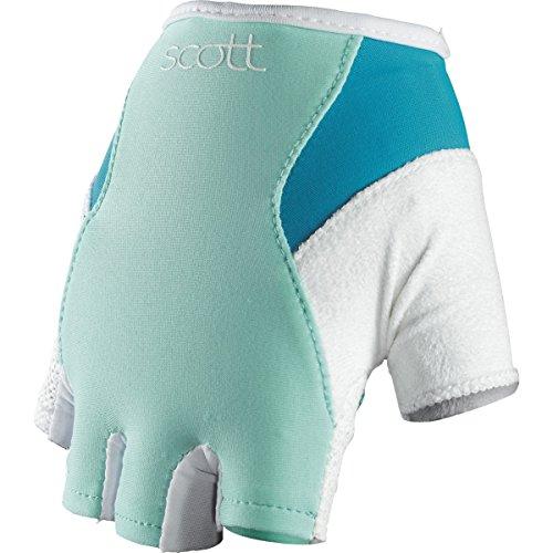 Scott Essential Damen Fahrrad Handschuhe kurz blau/weiß 2014: Größe: S (7)