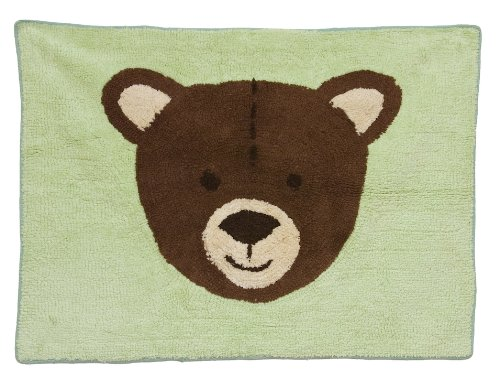 Pam Grace Creations Rug, Baby Bear front-948004