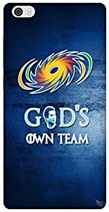 The Racoon Grip God's Own Team hard plastic printed back case / cover for Xiaomi Mi Note