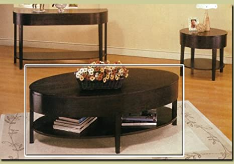 Coaster Home Furnishings 3941 Casual Coffee Table, Cappuccino