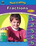 img - for Math in Action: Fractions book / textbook / text book