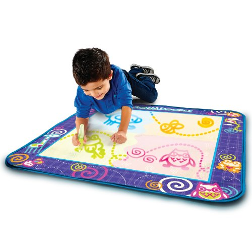 Aquadoodle Drawing Mat With Neon Color Reveal The Toy Shop