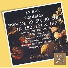 Bach, JS : Cantatas BWV 106, 182, 152, 118, 18, 89, 90, 161, 59