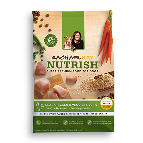 Rachael Ray Nutrish Natural Dry Dog Food, Chicken & Veggies Recipe, 28 lbs (Dog Food Supplies compare prices)