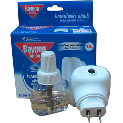 """Thaicomplex"" Baygon Liquid Electric Mosquito Repeller 30 Days 0.77 Oz"