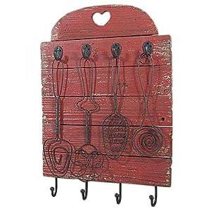 edle shabby chic landhausstil holz handtuchhalter. Black Bedroom Furniture Sets. Home Design Ideas