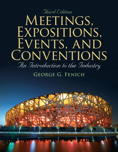 Meetings, Expositions, Events & Conventions: An...