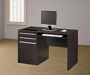 Modern Office Desk With Drawers And Built In