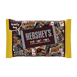 Hershey\'s Miniatures Assortment, 19.75-Ounce Bag (Pack of 3)