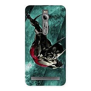 Special Future Knight Multicolor Back Case Cover for Asus Zenfone 2