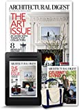 Architectural Digest All Access + Free Tote Bag and Celebrity Living Issue