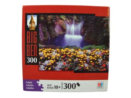 Big Ben 300 Piece Jigsaw Puzzle: Waterfall in British Columbia, Canada