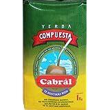 Cabral Yerba Mate Without Stems Yerba Mate Compuesta Sin Palo 1k (Tamaño: 1K)