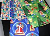 African American Christmas Gift Wrap (Giftwrap) Wrapping Paper: Santa, Children, Baby Jesus