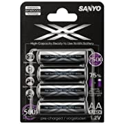 Post image for 8 x Sanyo Eneloop XX für 21€