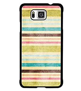 PrintDhaba Pattern D-5302 Back Case Cover for SAMSUNG GALAXY ALPHA (Multi-Coloured)