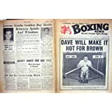 BOXING 1961 CHARNLEY WINSTONE SPINKS JOE BROWN DUPAS