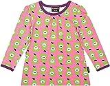 Maxomorra - Camiseta de manga larga - para niña Rosa rosa