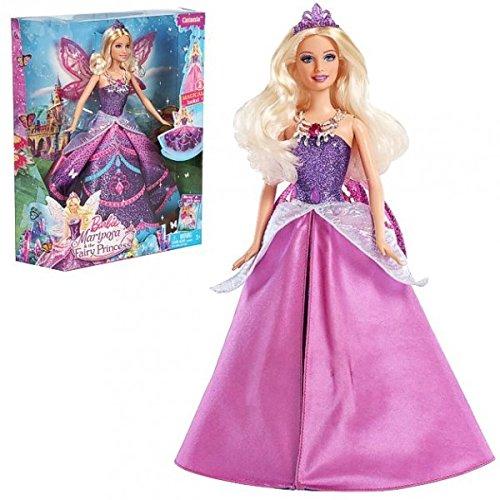 Barbie - Puppe Feenprinzessin Mariposa Catania