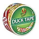 Duck Brand 283228 Movie Night Printed Duct Tape, 1.88 Inches x 10 Yards, Single Roll