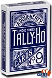 Tally Ho Fan Blue Back Playing Cards