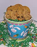 Scott's Cakes Cookie Combos - M & M and Oatmeal Raisin 1lb. Blue Bunny Pail