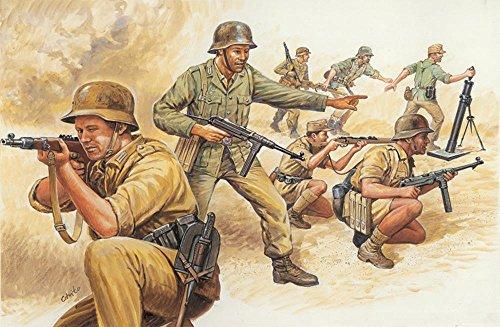 Afrika Korp Soldiers 1/72 Italeri - 1