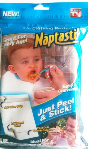 Naptastik Disposable Clothing Baby Adult Bib