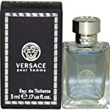 Versace Pour Homme by Versace, 0.17 Ounce (Tamaño: .17 oz.)