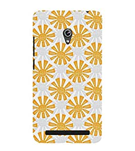 VINTAGE ANIMATED FLORAL PATTERN 3D Hard Polycarbonate Designer Back Case Cover for Asus Zenfone 5 A501CG :: Asus Zenfone 5 A500CG
