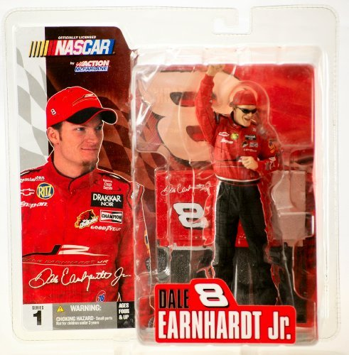 Dale Earnhardt Jr JR Motorsports Non-Budweiser McFarlane NASCAR Series 1 Action Figure With Sunglasses Chase Alternate Variant - 1