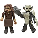 Diamond Select Toys Marvel Minimates: Thor 2: Series 53 Darcy and Dark Elf Action Figure, 2-Pack