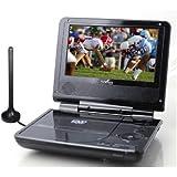 "Azend Envizen ED8850B Duo Box II 7"" Portable DVD and TV Player with ATSC TV"