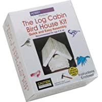 Log Cabin Birdhouse Kit
