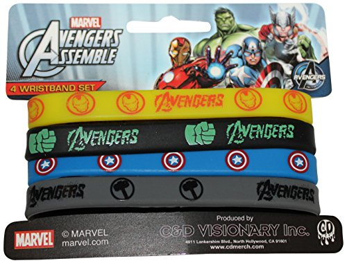 Application-Avengers-Assemble-Mini-Rubber-Wristband-4-Piece