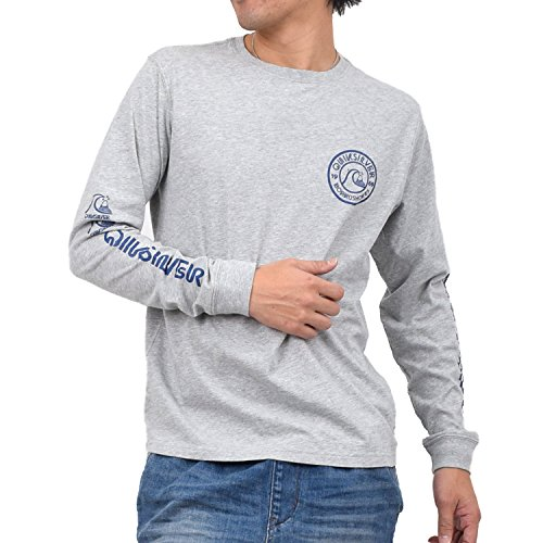 (クイックシルバー) QUIKSILVER メンズ長袖Tシャツ QLT151231 HTR L