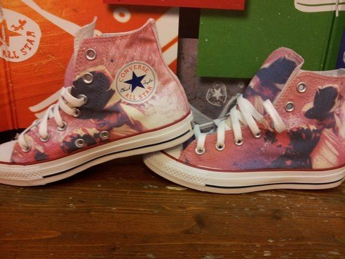 Converse Michael Jackson Style All Star Chaussures