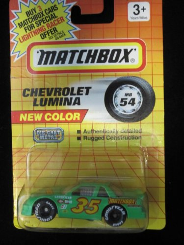 Chevrolet Lumina (fluorescent ogreen) Matchbox #54