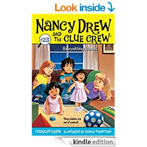 babysitting bandit nancy drew and the clue crew book 23. Black Bedroom Furniture Sets. Home Design Ideas