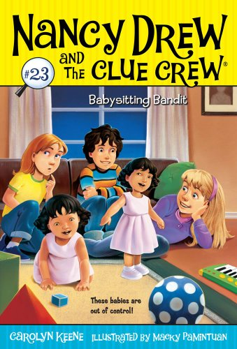 Babysitting Bandit (Nancy Drew And The Clue Crew) front-646728