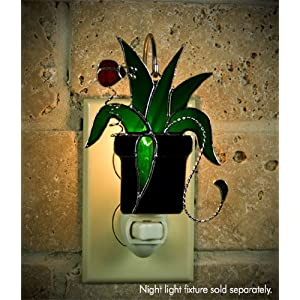 source Switchables SW110 Spider Plant Stained Glass Night Light Cover