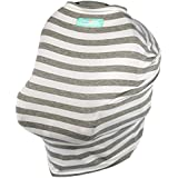 ? BLACK FRIDAY WKD SALE 33% OFF ? Stretchy Baby & Infant Car Seat Cover. 5-in-1 Multi-Use Canopy, Breastfeeding...