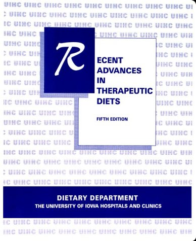 Recent Advances In Therapeutic Diets (3-Ring Binder) front-975304