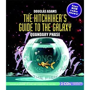 the hitchhiker 39 s guide to the galaxy quandary phase douglas adams books. Black Bedroom Furniture Sets. Home Design Ideas