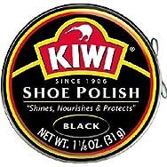 Johnson S C Inc 10111 Kiwi Shoe Polish-BLACK SHOE POLISH