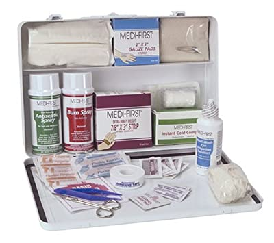 Tactical First Aid Kit: Medique 807M1 Large Vehicle First Aid Kit, Filled from Medique Products